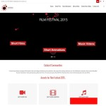 First draft completed for new film festival web design somehellip