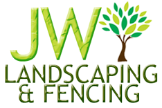 Copy of jw landscaping and fencing logo