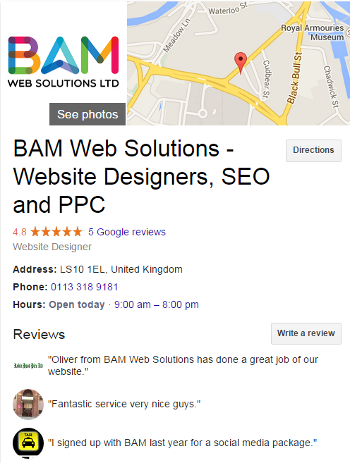 bam web solutions - Google Search (1)